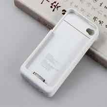 Gagaking батарея - чехол для iPhone 4 4S 1900 мАч - белый
