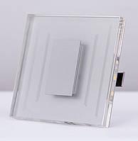 Подсветка LED декоративная CRISTAL 03, алюминий, холодный белый, фото 1