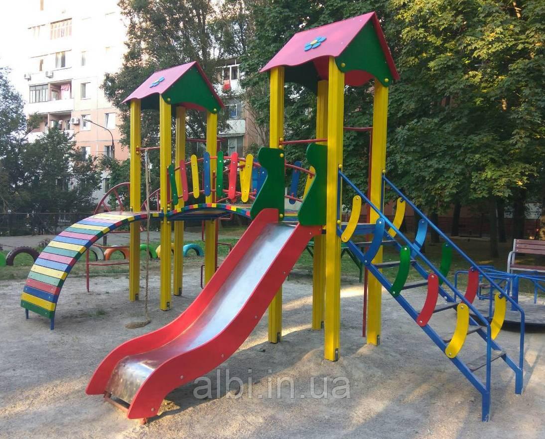Детский игровой комплекс «Ростик » БК – 704Р