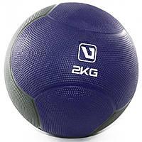 Медбол твердый LiveUp MEDICINE BALL, 2 кг, фото 1