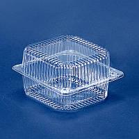 Пластиковый контейнер, блистер ПС-100, 135*130*77