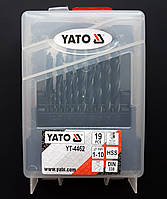 Набор свёрл по металлу YATO (1-10 мм)