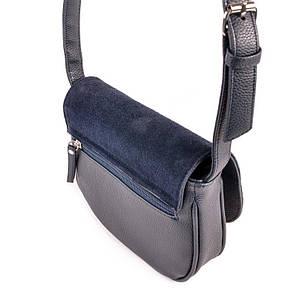 Женская сумочка с замшевым клапаном М55-39/замш, фото 2