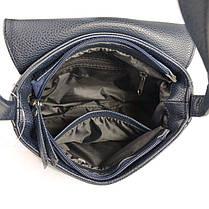 Женская сумочка с замшевым клапаном М55-39/замш, фото 3