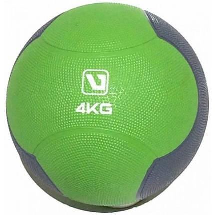 Медбол твердый LiveUp MEDICINE BALL, 4 кг, фото 2