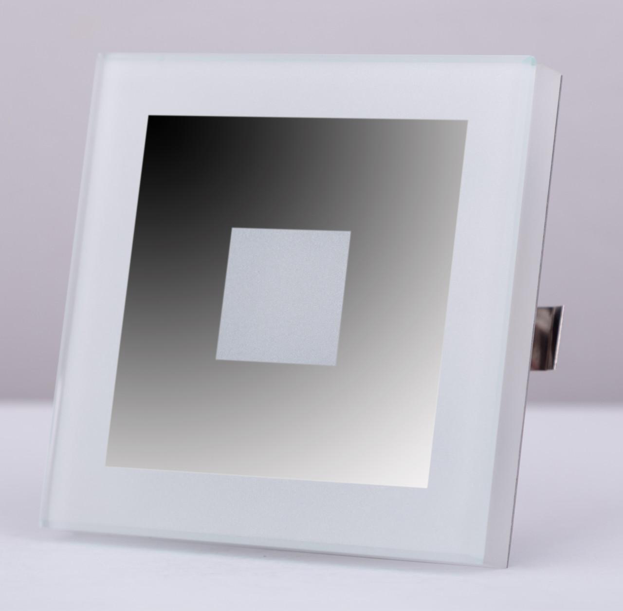 Подсветка LED декоративная LUCCIO2, хром зеркальный, холодный белый