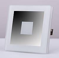 Подсветка LED декоративная LUCCIO2, хром зеркальный, холодный белый, фото 1