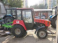 Чистка снега мини трактором, фото 1