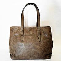 Интересная женская сумочка из экокожи цвета хаки LВВ-922298, фото 1