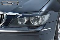 Реснички бровки тюнинг BMW E65 E66 рестайл