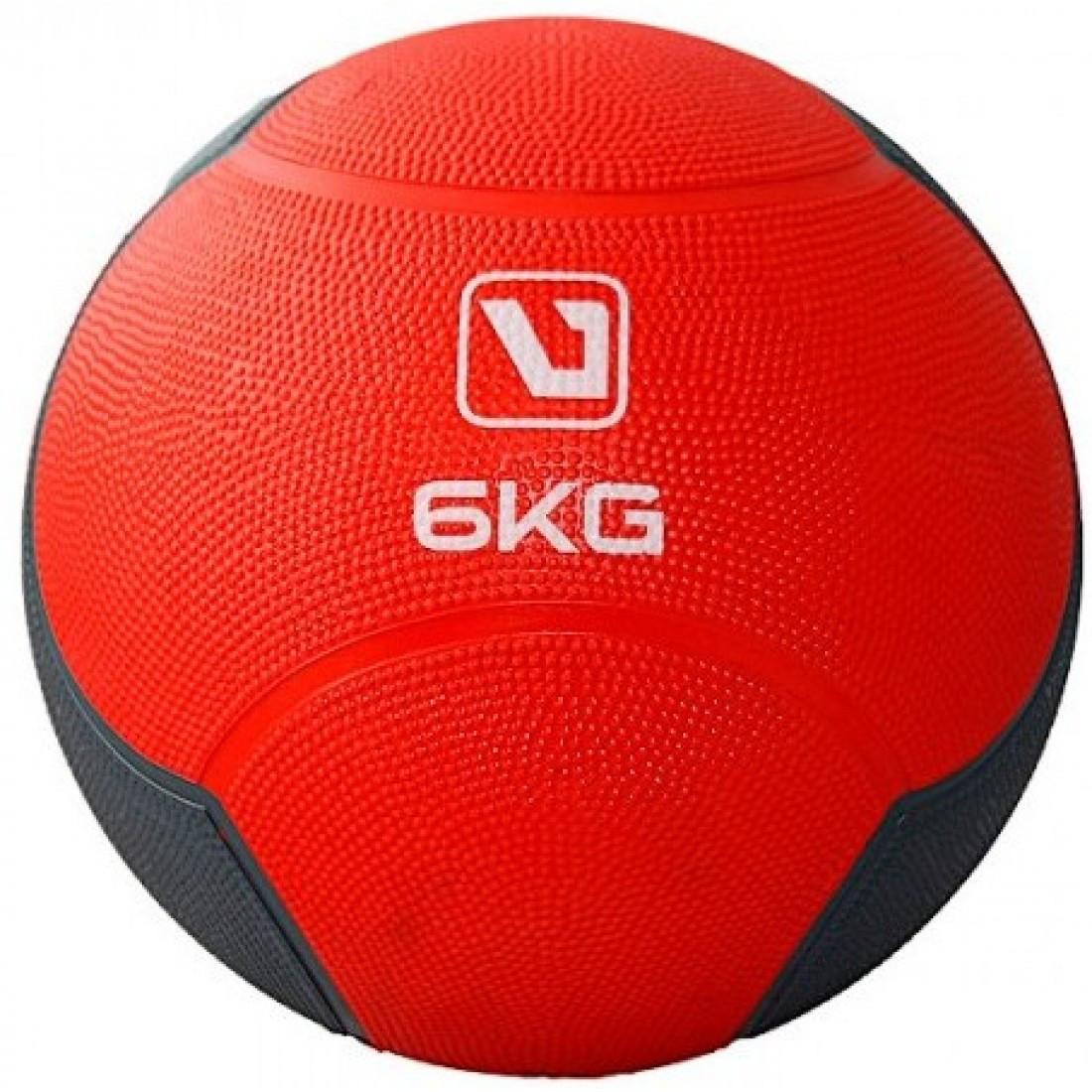 Медбол твердый LiveUp MEDICINE BALL, 6 кг