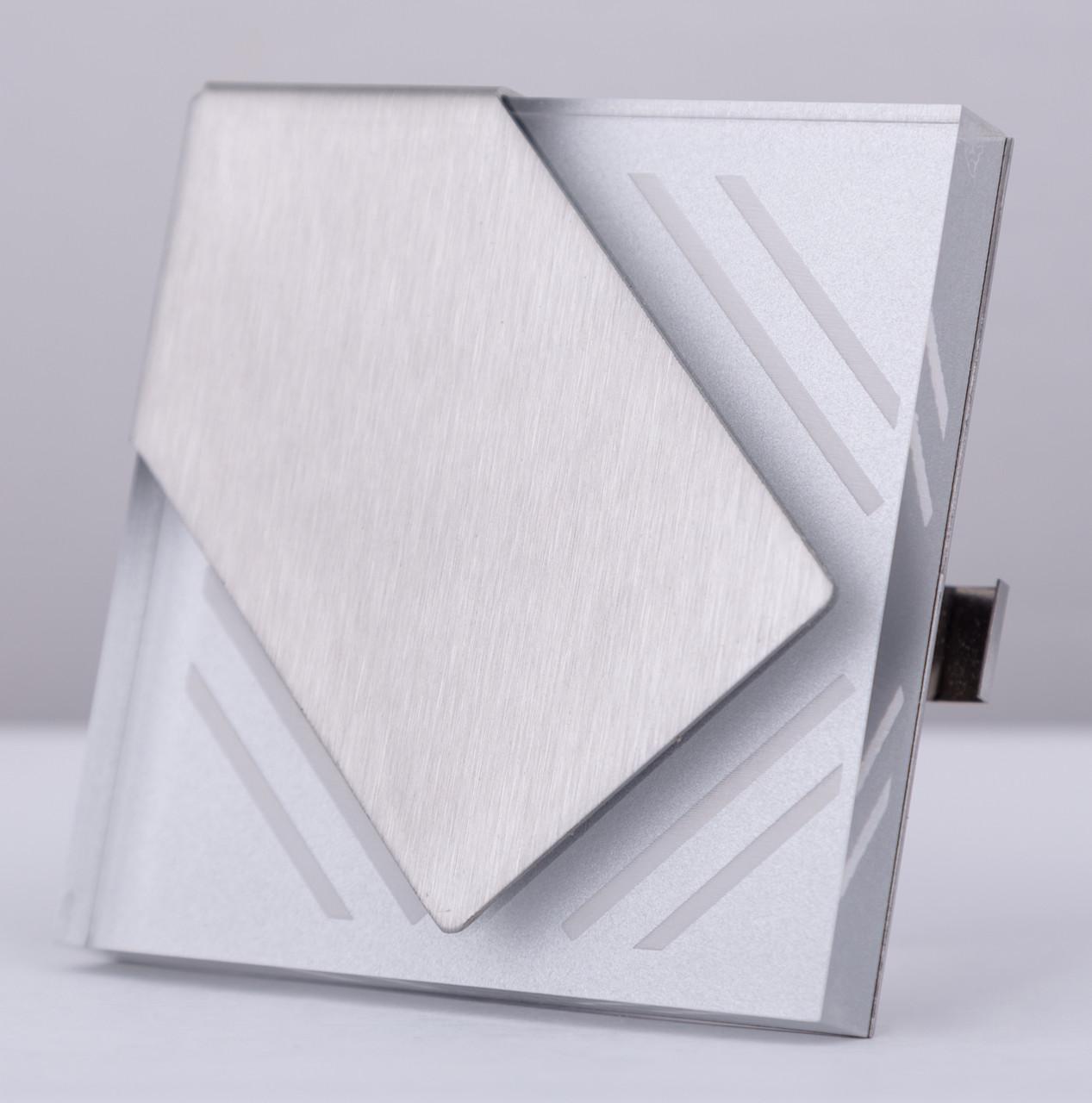 Подсветка LED декоративная Wave 04, алюминий, холодный белый