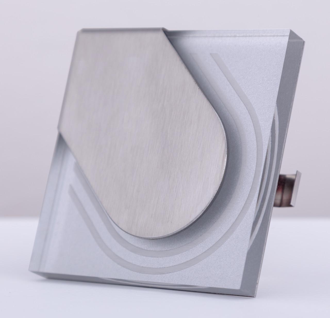 Подсветка LED декоративная Wave 05, алюминий, холодный белый