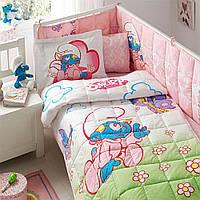 Детский набор в кроватку для младенцев, (5 пердметов) SIRINLER BABY