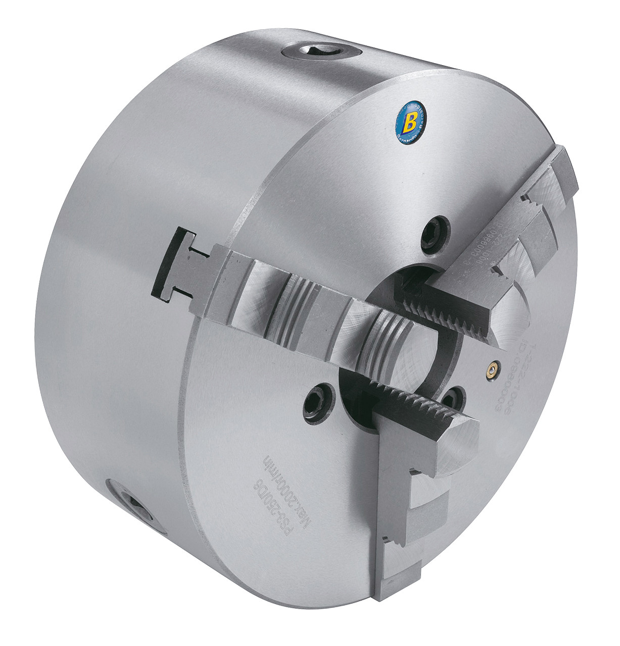Стандартный 3-кулачковый патрон PS3-200/D6