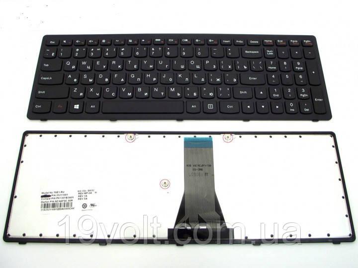 Клавиатура для ноутбука LENOVO IdeaPad G500s, G505s, S500, S510p, Z510, Flex 15