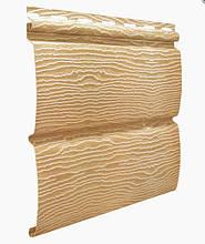 Дуб золотой 3,40х0,23м. Сайдинг виниловый Timberblock (Тимбер-Блок) Ю-пласт
