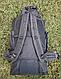 Туристический, городской, дорожный рюкзак Eveveme 90+10 литров (синий), фото 5
