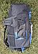 Туристический, городской, дорожный рюкзак Eveveme 90+10 литров (синий), фото 4