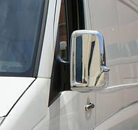 Накладки на зеркала 2шт Mercedes Sprinter W906/Volkswagen Crafter 2006 -