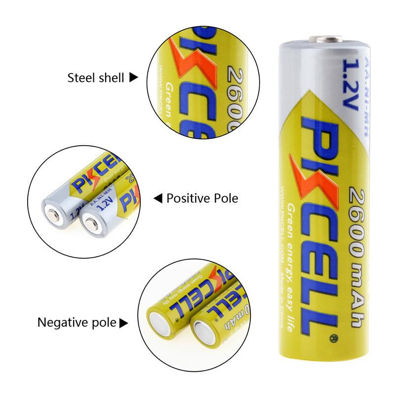 Аккумуляторы PKCELL AA, Емкость до 2900 мАч