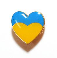 Значок сердце УКРАИНЫ