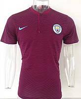 Футболка поло Манчестер Сити (cезон 2017-2018) фиолетовая