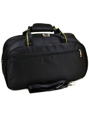 Дорожная сумка-саквояж 22806 22 Medium Big black, фото 2