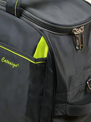 Дорожная сумка на колесах 22838-22in grey, фото 2