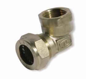 Косинець посилений нікельований DISPIPE (BL25NHP) 25х1 (F)
