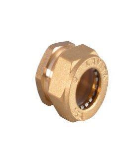 Заглушка нікельована посилена DISPIPE BS15x1/2 (W)NHP
