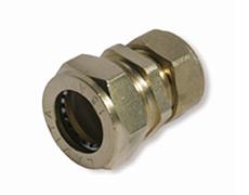 Муфта сполучна нікельована DISPIPE (BRS25-15N) 25X15