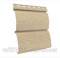 Ясень золотистый 3,40х0,23м. Сайдинг виниловый Timberblock (Тимбер-Блок) Ю-пласт
