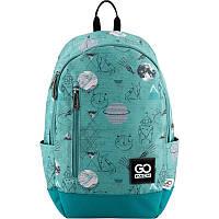 1c620cfbb906 Рюкзак школьный для старших классов, для студентов ТМ GoPack, легкий и  молодежный, голубой