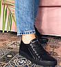 Женские кожаные кеды CARLO PACHINI черные