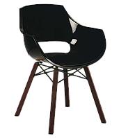 Кресло Papatya Opal Wox Iroko черное, фото 1