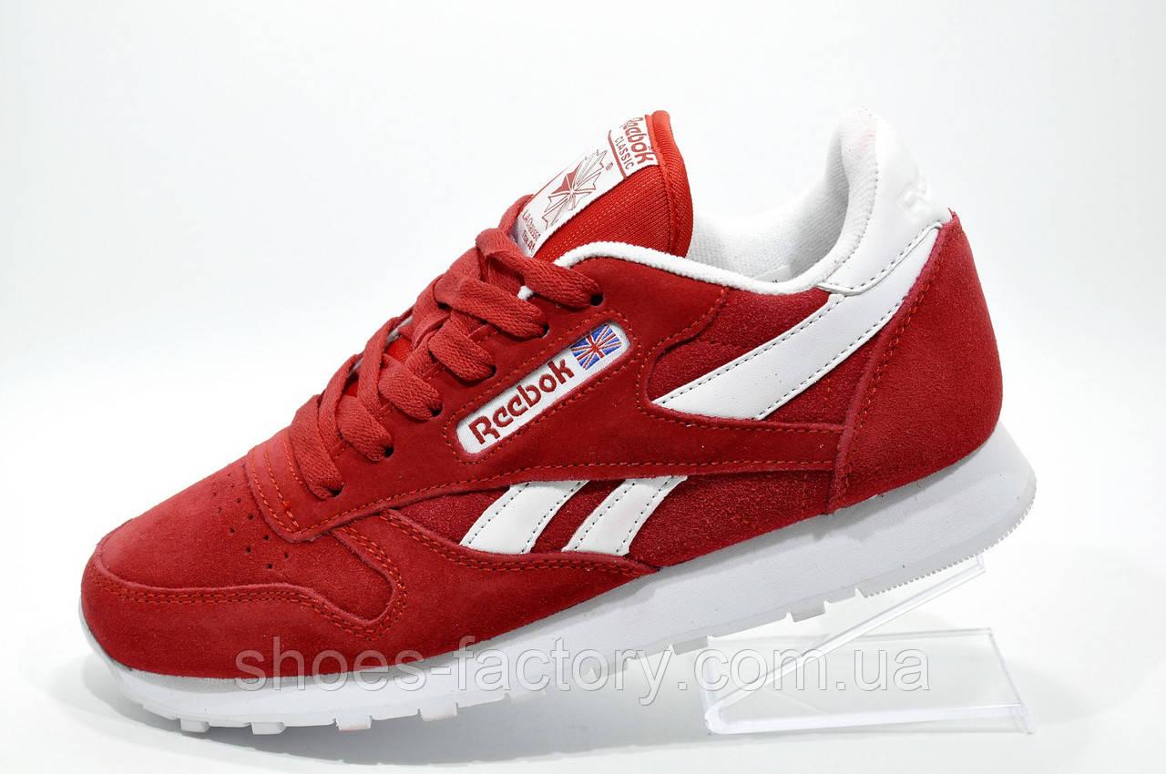 Женские кроссовки в стиле Reebok Classic Leather, Red\Красные