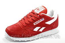 Женские кроссовки в стиле Reebok Classic Leather, Red\Красные, фото 2