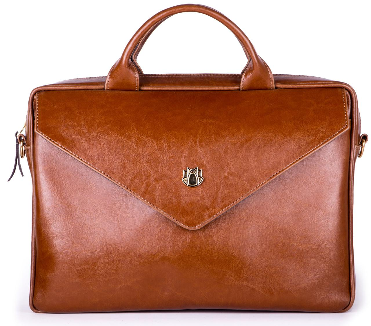 f284b7a096fb Женская сумка для ноутбука 15,6' Felice Fl15 Camel - SUPERSUMKA интернет  магазин в