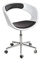 Кресло на колесах FLOP, белый/черный