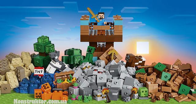 """Конструктор BELA 10733 Minecraft """"Верстак 2.0"""""""