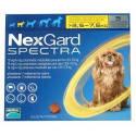 NexGard Spectra S (инсектоакарицид, антигельминтик) таблетки для собак от 3.5 до 7.5 кг (1 таб.)