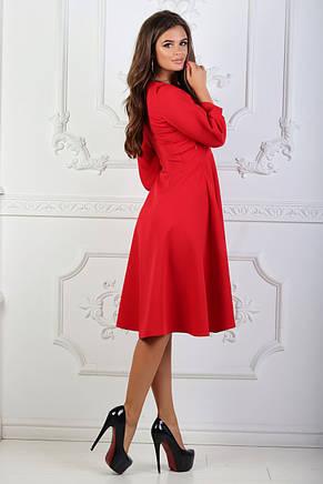 Платье миди с длинными рукавами, фото 2