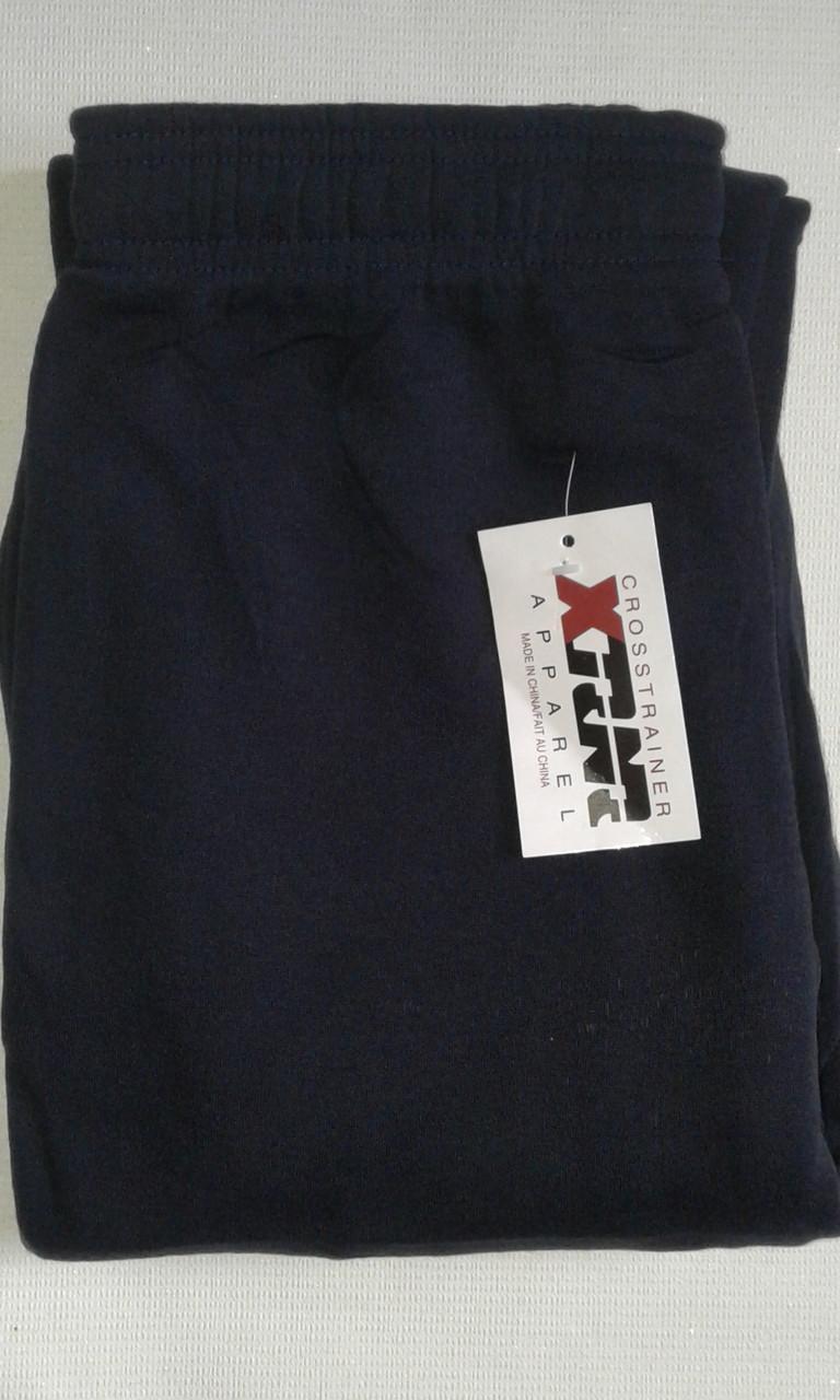 Спортивные штаны теплые унисекс,р.46-48 синие. От 4шт по 72грн