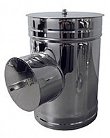 Ревізія термо ø 400/460 0.5 мм сталь нержавійка/оцинковка