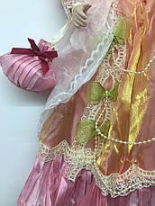 """Фарфоровая кукла, сувенирная, коллекционная 40 см """" Мария """" Porcelain doll (1303-13), фото 3"""