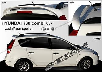 Спойлер козырек на заднее стекло тюнинг Hyundai I30
