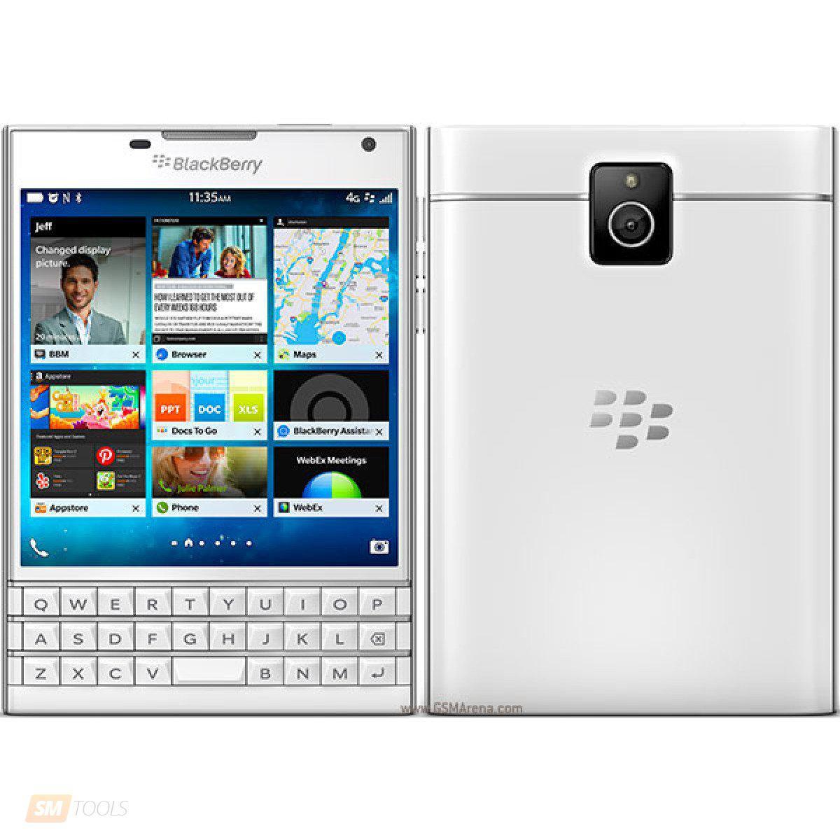 Смартфон BlackBerry Passport (White)