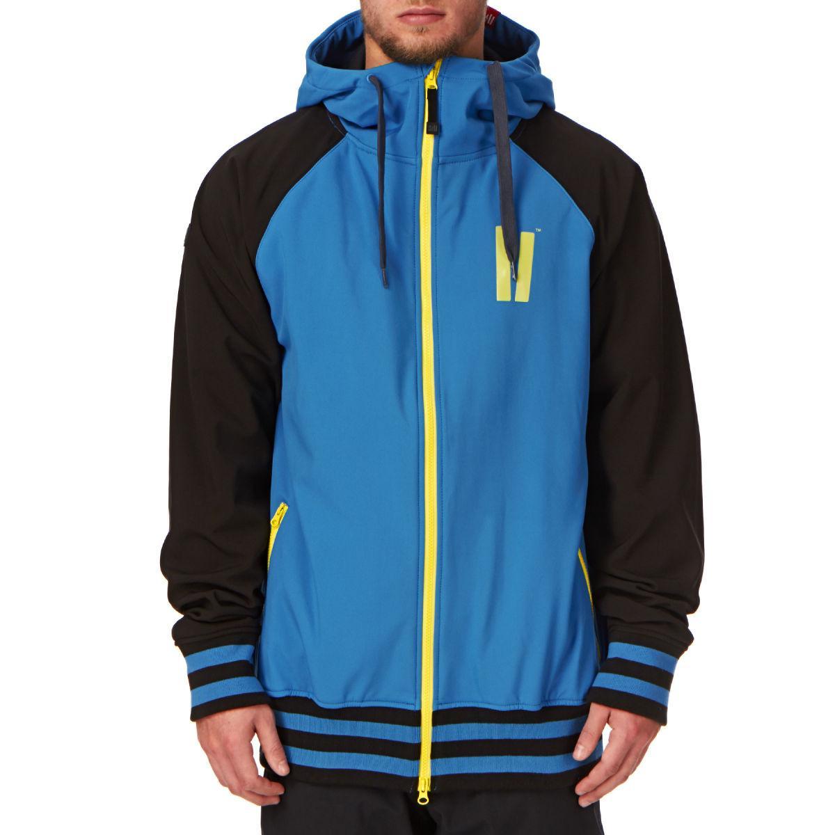 Куртка Planks reunion soft blue/Black L