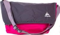 Яркая женская спортивная сумка 20 л. на плечо ONEPOLAR (ВАНПОЛАР) W5637-rose малиновый